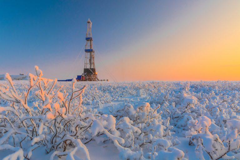 Alaskan North Slope Oil Explorer